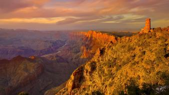 Arizona grand canyon landscapes rim rock formations wallpaper