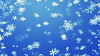 Artwork snow snowflakes winter Wallpaper
