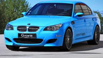 Bmw e60 m5 g power hurricane static wallpaper