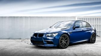 Bmw m3 blue cars Wallpaper
