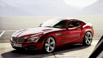 Bmw z4 zagato concept cars red wallpaper