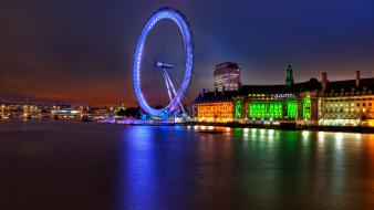 Britain england houses of parliament london eye wallpaper