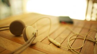 Earphones headphones iphone music wallpaper