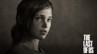 Ellie the last of us actress sepia sketches Wallpaper