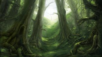 Fable artwork forests video games wallpaper