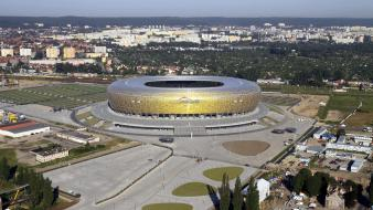 Gdansk poland polish euro 2012 pge arena wallpaper