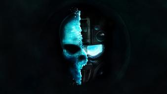 Ghost recon tom clancy skulls soldiers video games wallpaper