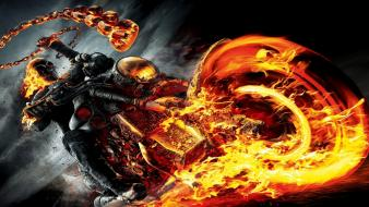 Ghost rider flames Wallpaper