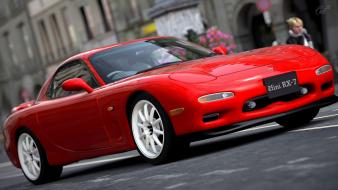 Gran turismo 5 mazda playstation 3 rx7 cars Wallpaper