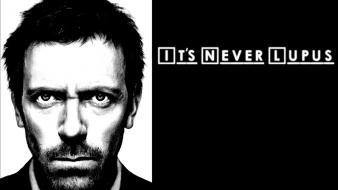 Gregory house md doctor funny grayscale Wallpaper