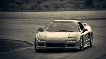 Honda jdm japanese domestic market cars monochrome wallpaper