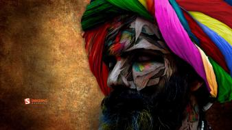 India smashing magazine abstract beard chromatic wallpaper