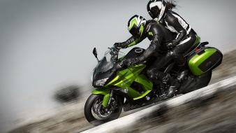 Kawasaki z1000sx green motorbikes wallpaper