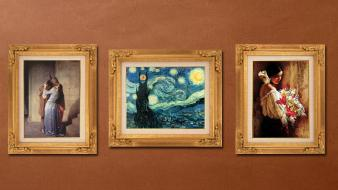 Lord of rings vincent van gogh funny Wallpaper