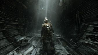 Metro 2033 artwork light video games Wallpaper