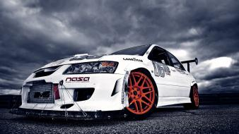 Mitsubishi lancer evolution viii cars rally vehicles wallpaper