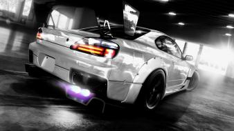 Nissan silvia s15 drifting cars tuning wallpaper