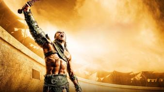 Of the arena tv series gladiator swords wallpaper