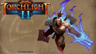 Rpg torchlight 2 berserker fantasy art video games wallpaper