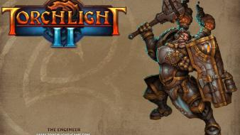 Rpg torchlight 2 engineers fantasy art video games wallpaper