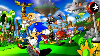 Sonic past wallpaper
