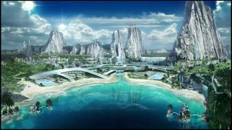 Star trek online cityscapes sea wallpaper