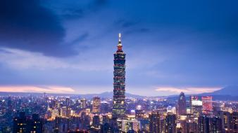 Taipei 101 architecture Wallpaper