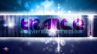 Trance beats music wallpaper