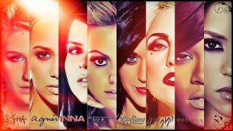 Alexia roy inna katy perry kesha sebert wallpaper