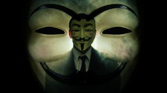 Anonymous v for vendetta masks movies Wallpaper