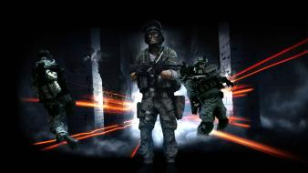 Battlefield 3 close quarters remington 870 knives shotguns Wallpaper