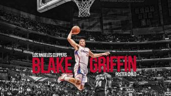 Blake griffin los angeles clippers nba basketball dunk wallpaper