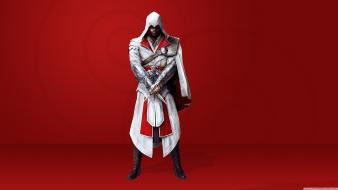 Ezio auditore da firenze assassins brotherhood video games wallpaper
