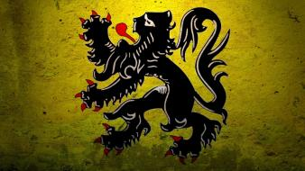 Germany flag of flanders flags medieval Wallpaper