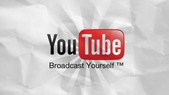 Internet youtube logos videos wallpaper