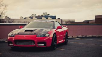 Mitsubishi 3000gt red tuning vehicles wallpaper