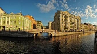 Russia saint petersburg cities rivers Wallpaper