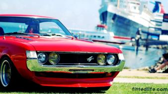 Toyota celica bokeh cars summer wallpaper