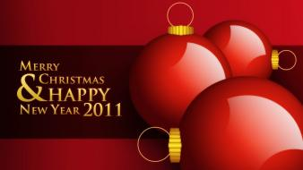2011 Happy New Year Christmas wallpaper