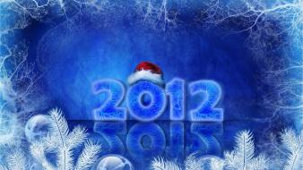 2012 Happy New Year Holidays wallpaper