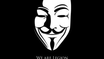 Anonymous we are legion wallpaper