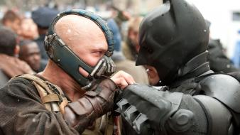 Batman bane tom hardy the dark knight rises wallpaper