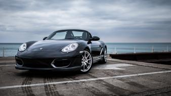 Beach spyder porsche boxster wallpaper