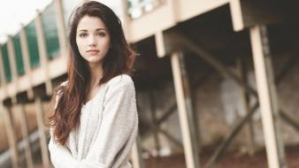 Brunettes women emily rudd wallpaper