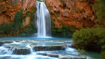 Canyon falls arizona indian wallpaper