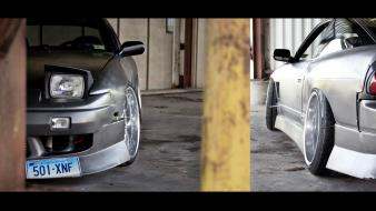 Cars multiscreen nissan 180sx jdm widescreen wallpaper