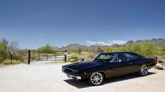Cars muscle dodge charger widescreen wallpaper