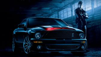 Cars muscle ford mustang knight rider widescreen Wallpaper