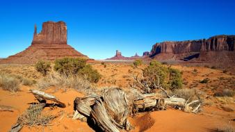 Desert west arizona monument valley dunes wallpaper