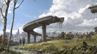 Fantasy art artwork the last of us wallpaper